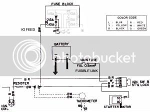 tach and lights problem [Forum  Main Forum] : Datsun 1200