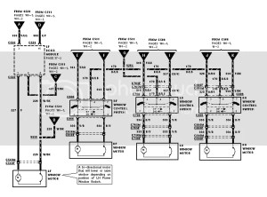 Lincoln TC Power Mirror Switch wiring Diagram? | Body and