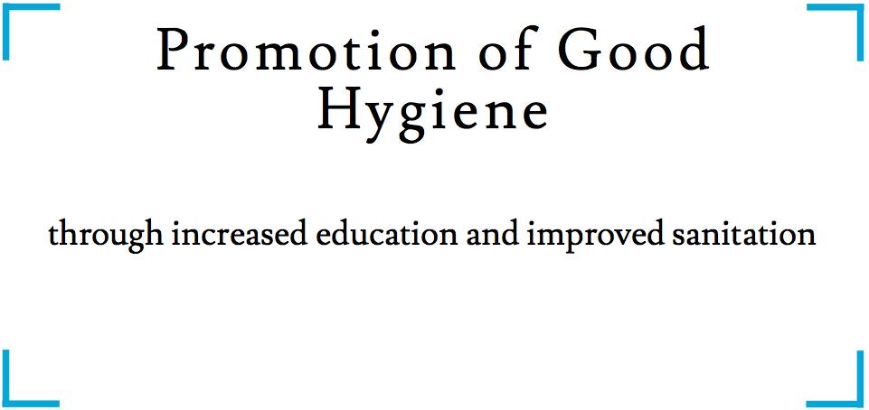 Promotion of good hygiene_2