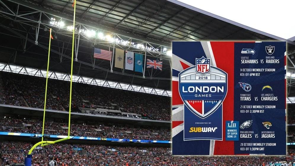 NFL London Games Verkauf Der Rest Tickets Startet Bald