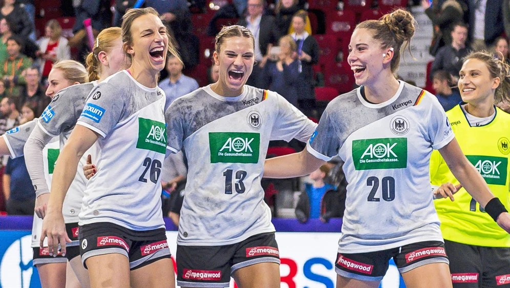 deutschen handballerinnen ins em halbfinale