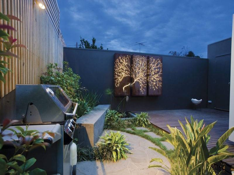 Outdoor living design with bbq area from a real Australian ... on Ab And Outdoor Living  id=46116