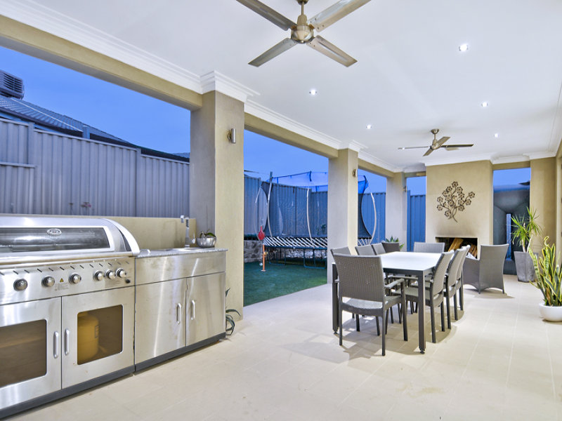 Outdoor living design with bbq area from a real Australian ... on Ab And Outdoor Living  id=12857