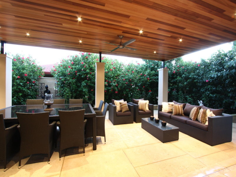 Outdoor living design with pergola from a real Australian ... on Aust Outdoor Living  id=14119