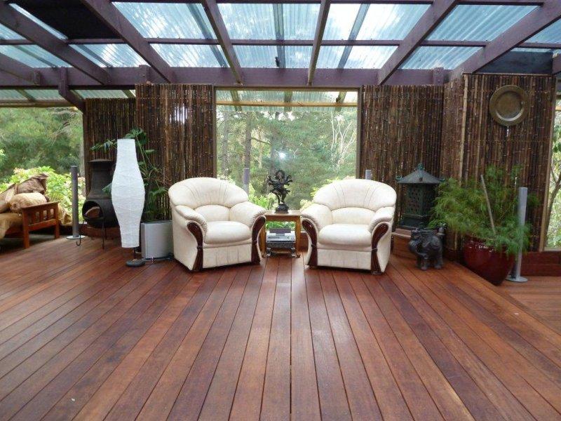 Indoor-outdoor outdoor living design with deck ... on Fancy Outdoor Living id=57577