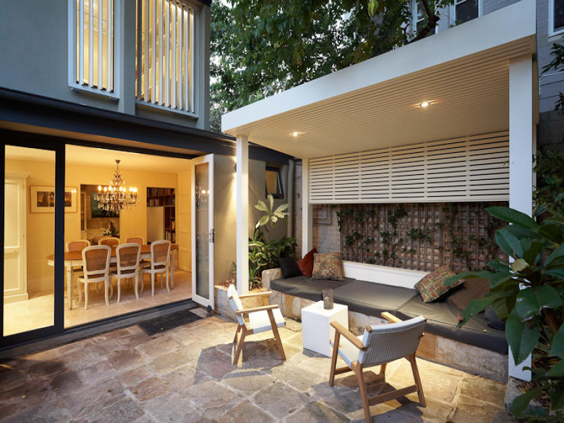 Outdoor living design with gazebo from a real Australian ... on Aust Outdoor Living  id=89535