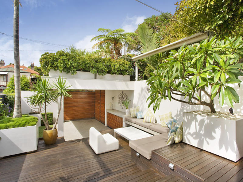 Outdoor living design with deck from a real Australian ... on Aust Outdoor Living  id=62710