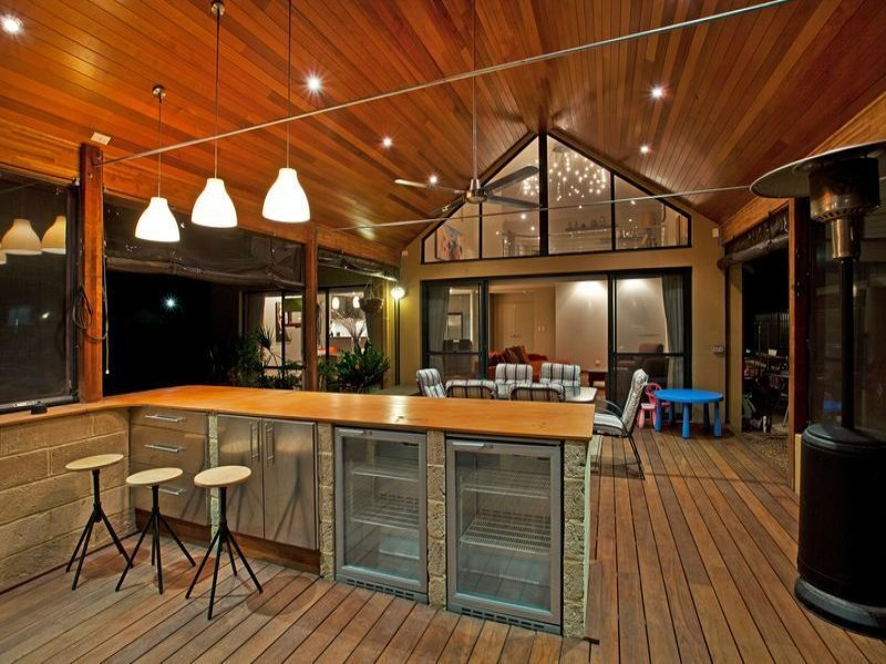 Outdoor living design with bbq area from a real Australian ... on Aust Outdoor Living  id=82098