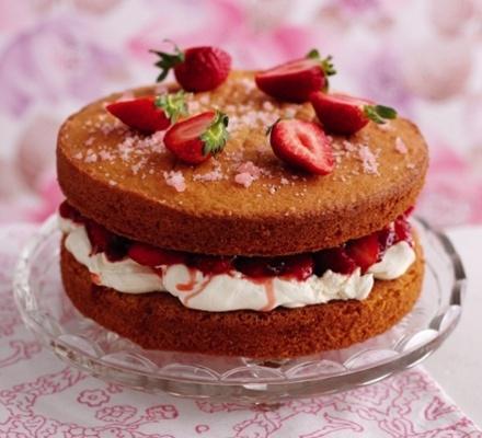 Victoria Sponge Cake Icing Recipe