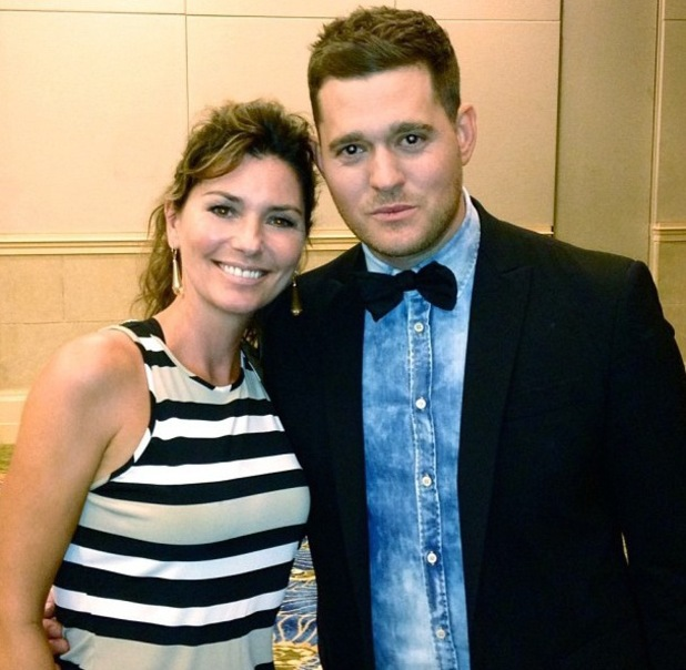 Image result for shania twain michael buble