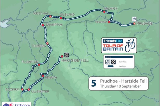 Stage 5 of the Tour of Britain 2015