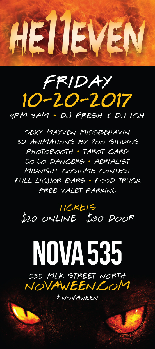 Friday October 20, 2017 Novaween He11even