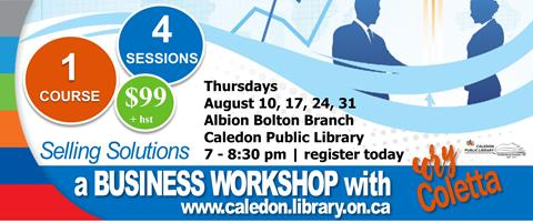 Library workshop: register now