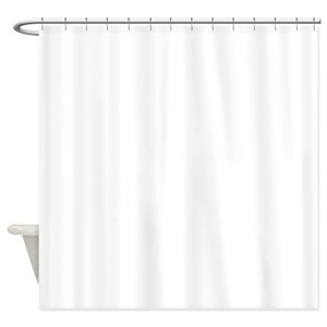 grey pink ombre shower curtain