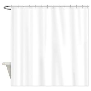 silver glitter shower curtain