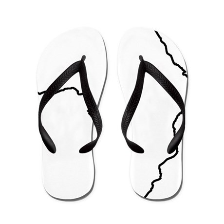 48e9b0a99 African Continent Outline Flip Flops By Admin Cp15905867