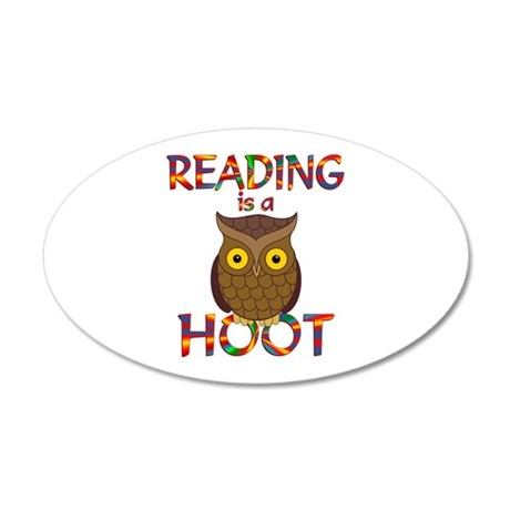 Reading is a Hoot Wall Decal