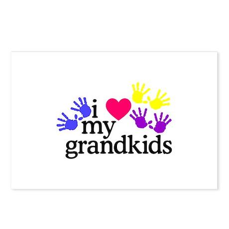 Download Grandkids Postcards | Grandkids Post Card Design Template