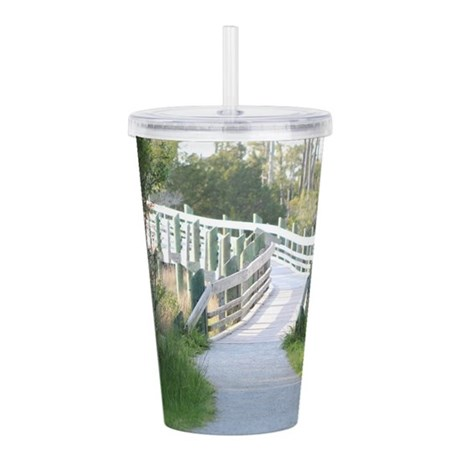 Boardwalk Bliss Acrylic Double-wall Tumbler
