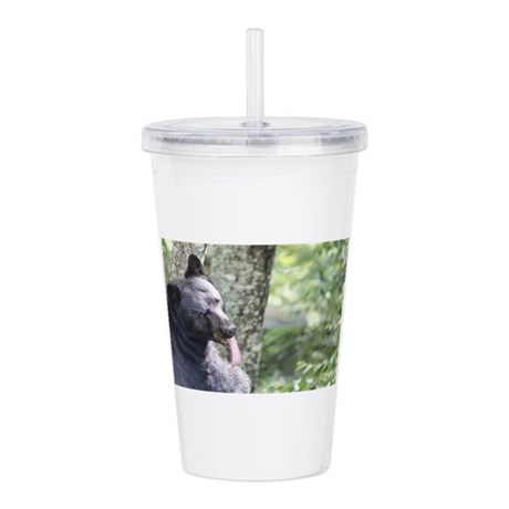 Bear Tongue Acrylic Double-wall Tumbler