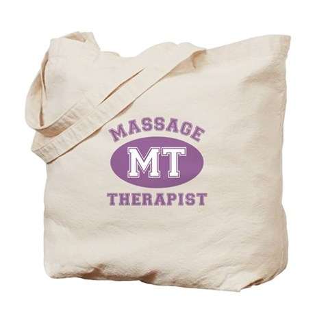Massage Therapist (MT) Tote Bag by thehealinghand