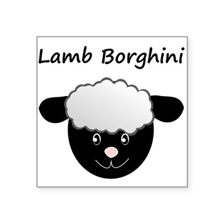 Lamb Borghini Sticker