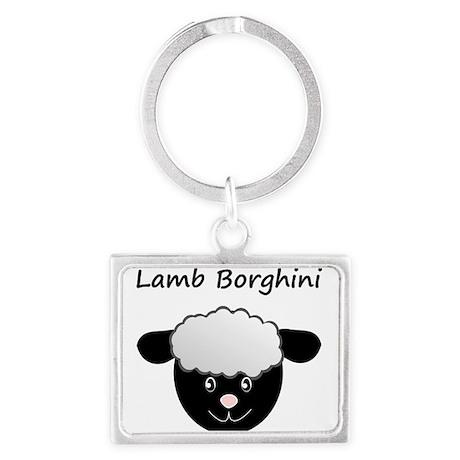 Lamb Borghini Keychain