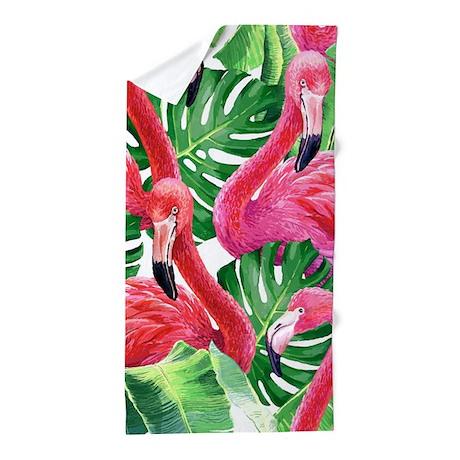 Flamingo Beach Towel By Bestgear2