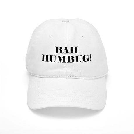 Bah Humbug Cap By Nonchristmas
