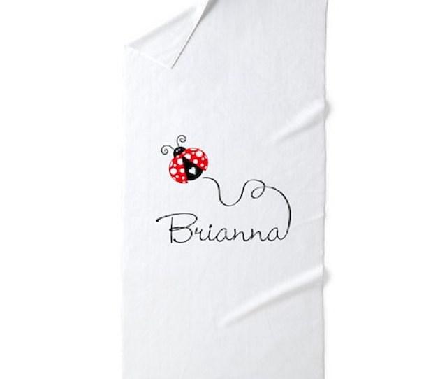 Ladybug Brianna Beach Towel