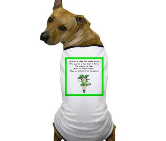 Limerick Dog T Shirt