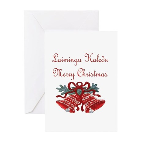 Lithuanian Christmas Greeting Card By Queenvintage