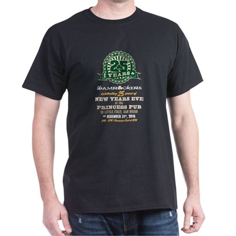 Shamrockers 25 Years NYE T-Shirt