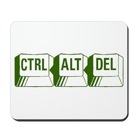 Ctrl, Alt, Del Mousepad by p_t_c