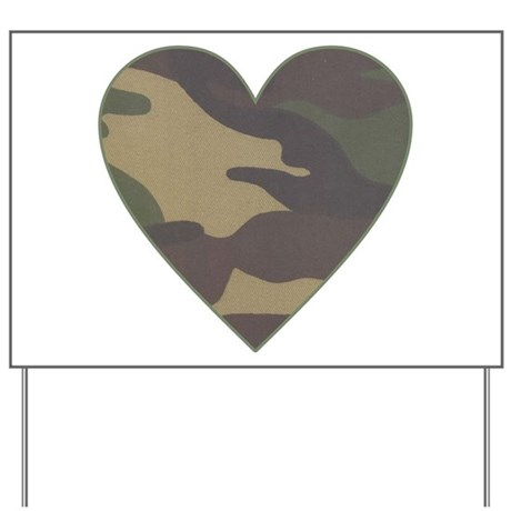 Download Camouflage Heart Military Valentine Yard Sign by ...