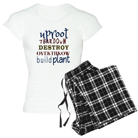 Uproot, Tear Down Women's Light Pajamas