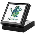 Year of the Monkey Keepsake Box