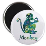 Year of the Monkey Magnet
