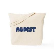 Image result for nudist tote bag