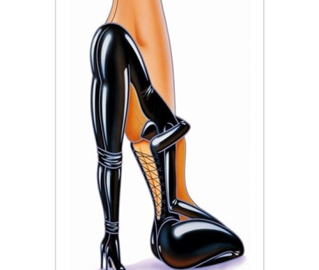 Fetish High Heeled Shoe
