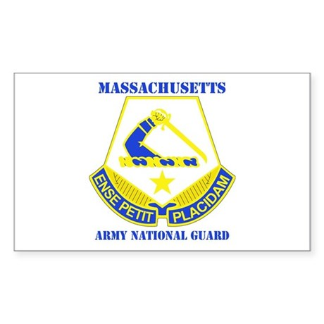 DUI - Massachusetts Army National Guard with text by ...