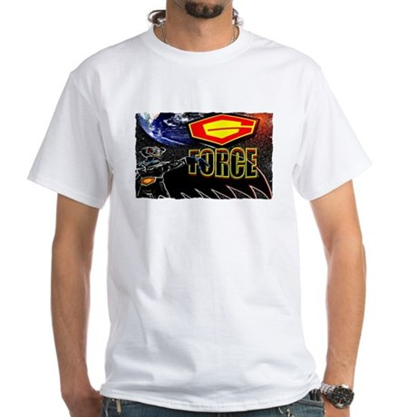 battle of the planets White T-Shirt battle of the planets ...