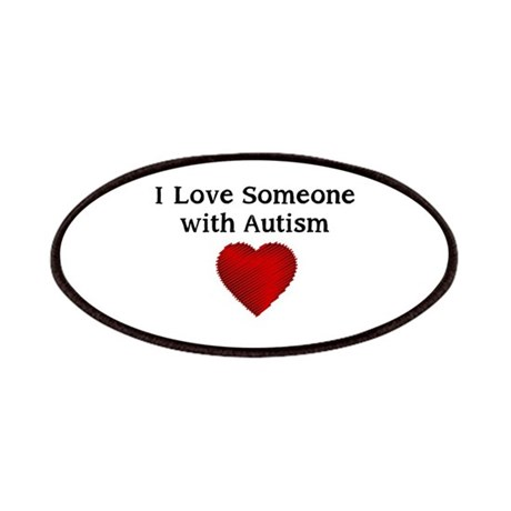 Download I love someone with autism Patches by hopelovesupport