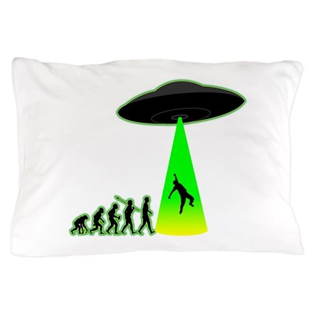 Alien Abduction Pillow Case by ApesToMan