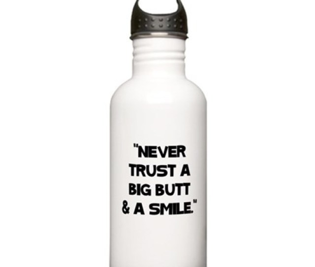 Big Butts Stainless Water Bottle  L