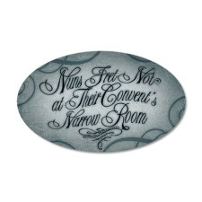 Nuns Fret Not Wall Decal