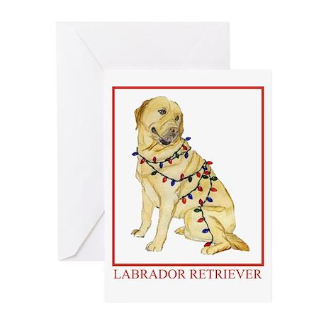 Labrador Retriever Yellow Lab Christmas Cards By Dogsdogsdogs