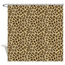 Leopard Cat Fur Shower Curtain