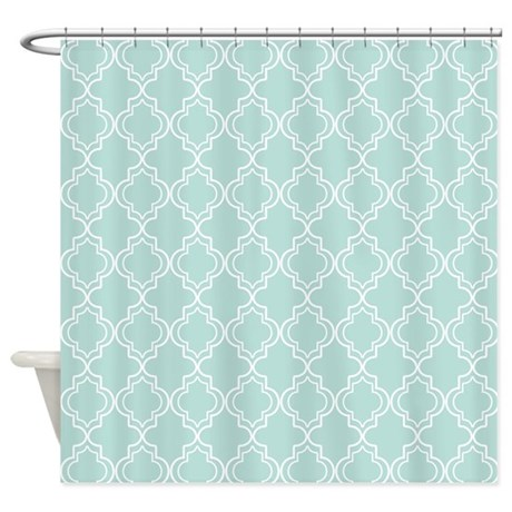Quatrefoil Shower Curtain