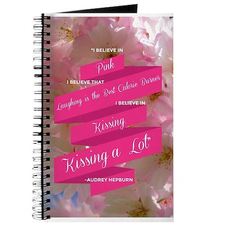 Audrey Hepburn: I Believe Journal
